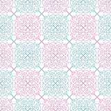 illustration of seamless background in vintage style