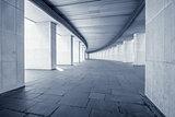 Long wide corridor.