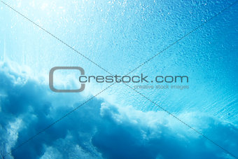 Abstract Sea and Ocean Background