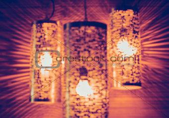 Beautiful modern lamps
