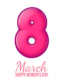 International Womens Day. March 8. volume eight