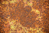 Old rusty weathered metal texture