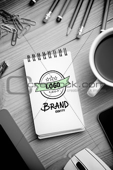 Composite image of brand identity doodle