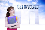 Get involved! against opening doors in sky