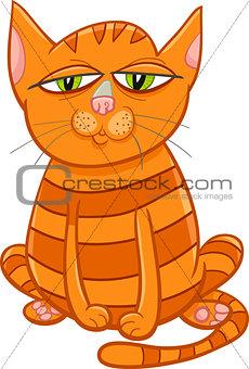 cat pet cartoon character