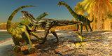 Brachiosaurus Dinosaur Attack