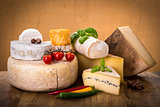 many types of french cheeses