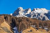 Mountains landscape in autumn season