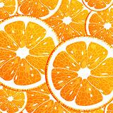 Background with orange