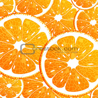 Background with orange