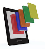 ebook reader concept