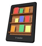 ebook reader concept