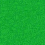 Thin Holiday Line Saint Patrick Day Green Seamless Pattern