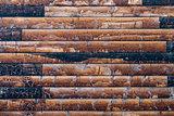 Modern rustic wall