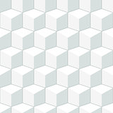 White geometric texture. Seamless vector pattern.