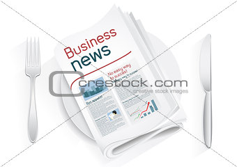 business news tablewares