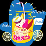 Delicious fruit smooth