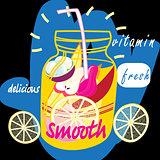 Delicious fruit smooth