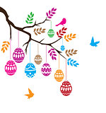 Easter Branch Vector