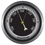 Barometer - air pressure measurements