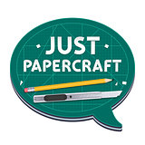 Just Papercraft Poster