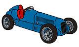 Classic racing car