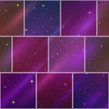 Abstract space background, seamless