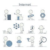 Outline People - Internet
