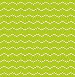 Zig zag green and white tile vector pattern