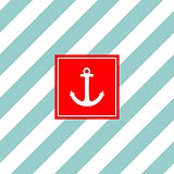 Nautical vector card or invitation