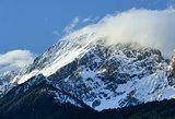 Winter mountain top(Austria).