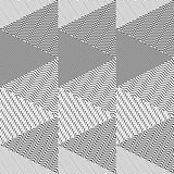 Seamless pattern with triangles