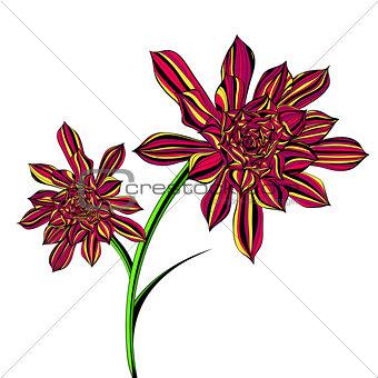 Bright Aeonium Tree Floral