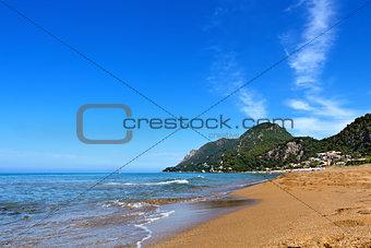 Beach on the greek islands