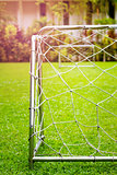 Football Goal with Play-field View