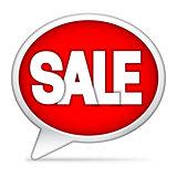 Speech Bubble Sale Announcement