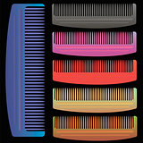 Set of Colorful Combs