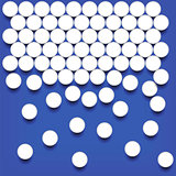 Set of White Pills