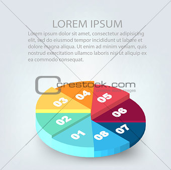 Abstract Creative concept background. Infographic design template. Business concept. Vector illustration EPS 10 for your design.