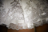 The details of the wedding dresses