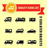 camper van quality icons