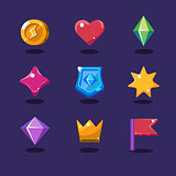 Game resources icons