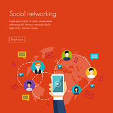Social media network marketing
