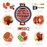BBQ Infographics