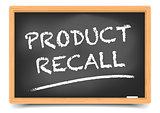Blackboard Product Recall