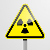Warning Sign Radiation