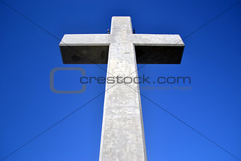 Cross on Filerimos Mount, Rhodes, Greece