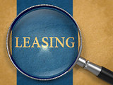 Leasing through Magnifying Glass.