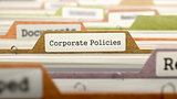 Folder in Catalog Marked as Corporate Policies.