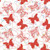 Butterflies Low Poly Pattern